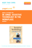 Assistive Technology in the Workplace - Elsevier eBook on VitalSource (Retail Access Card)