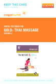 Thai Massage - Elsevier eBook on VitalSource (Retail Access Card), 2nd Edition