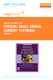 cover image - Small Animal Surgery Textbook - Elsevier eBook on VitalSource (Retail Access Card),3rd Edition