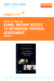 cover image - Instant Access to Orthopedic Physical Assessment - Elsevier eBook on VitalSource (Retail Access Card),2nd Edition