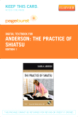 cover image - The Practice of Shiatsu - Elsevier eBook on VitalSource (Retail Access Card)