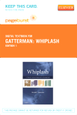 Whiplash - Elsevier eBook on VitalSource (Retail Access Card)
