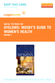 cover image - Mosby's Guide to Women's Health - Elsevier eBook on VitalSource (Retail Access Card)