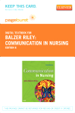 Communication in Nursing - Elsevier eBook on VitalSource (Retail Access Card), 6th Edition