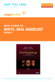 cover image - Oral Radiology - Elsevier eBook on VitalSource (Retail Access Card),6th Edition