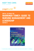 Guide to Nursing Management and Leadership - Elsevier eBook on VitalSource (Retail Access Card), 8th Edition
