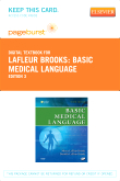 Basic Medical Language - Elsevier eBook on VitalSource (Retail Access Card), 3rd Edition