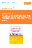 Pharmacology and Therapeutics for Dentistry - Elsevier eBook on VitalSource (Retail Access Card), 6th Edition