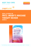 cover image - Mosby's Massage Therapy Review - Elsevier eBook on VitalSource (Retail Access Card),3rd Edition