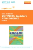 Calculate with Confidence - Elsevier eBook on VitalSource (Retail Access Card), 5th Edition