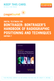 cover image - Bontrager's Handbook of Radiographic Positioning and Techniques - Elsevier eBook on VitalSource (Retail Access Card),7th Edition