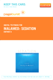 Sedation - Elsevier eBook on VitalSource (Retail Access Card), 5th Edition