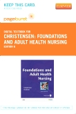 cover image - Foundations and Adult Health Nursing - Elsevier eBook on VitalSource (Retail Access Card),6th Edition