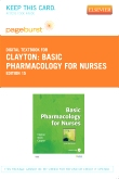 Basic Pharmacology for Nurses - Elsevier eBook on VitalSource (Retail Access Card), 15th Edition