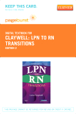 LPN to RN Transitions - Elsevier eBook on VitalSource (Retail Access Card), 2nd Edition