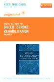 Stroke Rehabilitation - Elsevier eBook on VitalSource (Retail Access Card), 3rd Edition