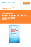 cover image - Manual of Critical Care Nursing - Elsevier eBook on VitalSource (Retail Access Card),6th Edition