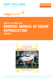 cover image - Manual of Equine Reproduction - Elsevier eBook on VitalSource (Retail Access Card),3rd Edition