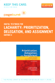 cover image - Prioritization, Delegation, and Assignment - Elsevier eBook on VitalSource (Retail Access Card),2nd Edition