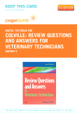 Review Questions and Answers for Veterinary Technicians - Elsevier eBook on VitalSource (Retail Access Card), 4th Edition