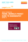 Merrill's Pocket Guide to Radiography - Elsevier eBook on VitalSource (Retail Access Card), 12th Edition