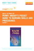 Mosby's Pocket Guide to Nursing Skills and Procedures - Elsevier eBook on VitalSource (Retail Access Card), 7th Edition