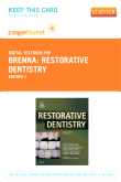 Restorative Dentistry - Elsevier eBook on VitalSource (Retail Access Card)