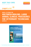cover image - Large Animal Clinical Procedures for Veterinary Techncians - Elsevier eBook on VitalSource (Retail Access Card),2nd Edition