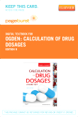 Calculation of Drug Dosages - Elsevier eBook on VitalSource (Retail Access Card), 9th Edition