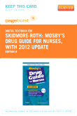 cover image - Mosby's Drug Guide for Nurses, with 2012 Update - Elsevier eBook on VitalSource (Retail Access Card),9th Edition