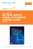 Ruppel's Manual of Pulmonary Function Testing - Elsevier eBook on VitalSource (Retail Access Card), 10th Edition