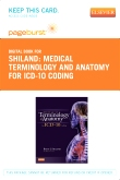 cover image - Medical Terminology and Anatomy for ICD-10 Coding - Elsevier eBook on VitalSource (Retail Access Card)