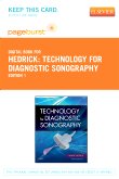 cover image - Hedrick - Technology for Diagnostic Sonography - Elsevier eBook on VitalSource (Retail Access Card)