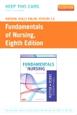 cover image - Nursing Skills Online Version 3.0 for Fundamentals of Nursing (Access Code),8th Edition