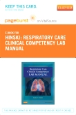 cover image - RESPIRATORY CARE CLINICAL COMPETENCY LAB MANUAL - Elsevier eBook on VitalSource (Retail Access Card)
