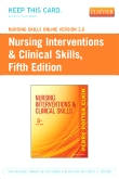 cover image - Nursing Skills Online Version 3.0  for Nursing Interventions & Clinical Skills (Access Code),5th Edition