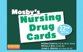 cover image - Mosby's Nursing Drug Cards,22nd Edition