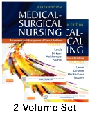 Medical-Surgical Nursing - 2-Volume Set, 9th Edition