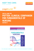 cover image - Clinical Companion for Fundamentals of Nursing - Elsevier eBook on VitalSource (Retail Access Card),8th Edition