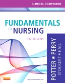 cover image - Clinical Companion for Fundamentals of Nursing - Elsevier eBook on VitalSource,8th Edition