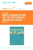 cover image - Rehabilitation for the Postsurgical Orthopedic Patient - Elsevier eBook on VitalSource (Retail Access Card),3rd Edition