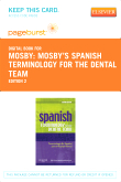 Spanish Terminology for the Dental Team - Elsevier eBook on VitalSource (Retail Access Card), 2nd Edition