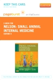 cover image - Small Animal Internal Medicine - Elsevier eBook on VitalSource (Retail Access Card),5th Edition