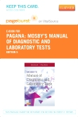 Mosby's Manual of Diagnostic and Laboratory Tests - Elsevier eBook on VitalSource (Retail Access Card), 5th Edition