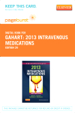 2013 Intravenous Medications – Elsevier eBook on VitalSource (Retail Access Card), 29th Edition
