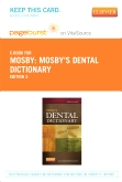Mosby's Dental Dictionary - Elsevier eBook on VitalSource (Retail Access Card), 3rd Edition