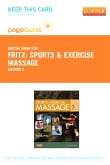 Sports & Exercise Massage - Elsevier eBook on VitalSource (Retail Access Card), 2nd Edition