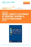 Mosby's Dictionary of Medicine, Nursing & Health Professions - Elsevier eBook on VitalSource (Retail Access Card), 9th Edition