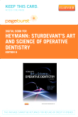 cover image - Sturdevant's Art and Science of Operative Dentistry - Elsevier eBook on VitalSource (Retail Access Card),6th Edition
