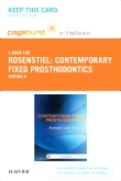 cover image - Contemporary Fixed Prosthodontics - Elsevier eBook on VitalSource (Retail Access Card),5th Edition